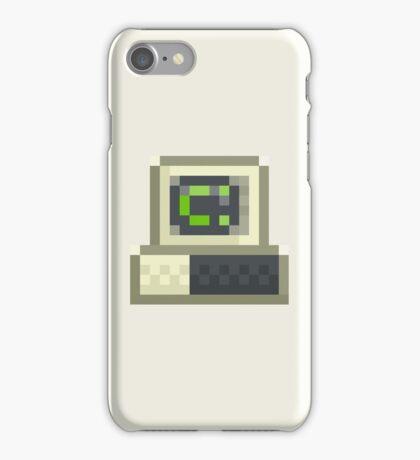 Pixel IBM PC iPhone Case/Skin