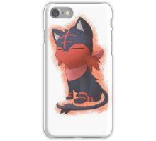 Sakamoto Litten[Nichijou/Pokemon] iPhone Case/Skin