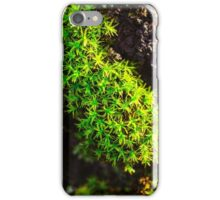 astral moss iPhone Case/Skin