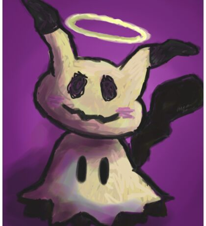 Mimikkyu Digital Painting Sticker