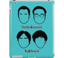 Men of Big Bang Theory iPad Case/Skin