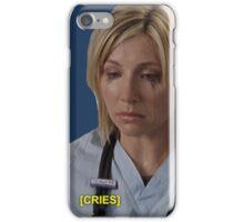 Elliot Reid Scrubs Cries iPhone Case/Skin
