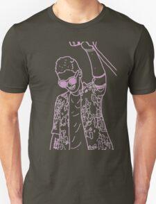 pink floral tyler joseph  Unisex T-Shirt