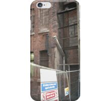 Manchester building study 1 iPhone Case/Skin