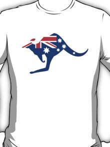 Australian Kangaroo Flag T-Shirt