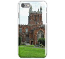 The Church of Crediton Devon. iPhone Case/Skin
