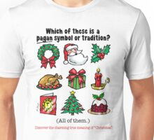 PAGAN CHRISTMAS - (Short text) Unisex T-Shirt
