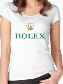 ROLEX t-shirts and merchandise Women's Fitted Scoop T-Shirt