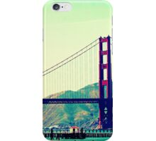 Lazy San Francisco Afternoon Gazing Upon The Golden Gate Bridge iPhone Case/Skin