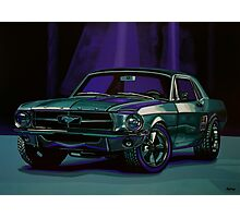 Ford Mustang 1967 Painting Photographic Print