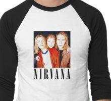Totally Legit Nirvana T-Shirt Men's Baseball ¾ T-Shirt
