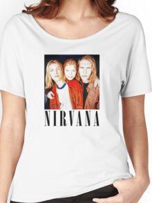 Totally Legit Nirvana T-Shirt Women's Relaxed Fit T-Shirt