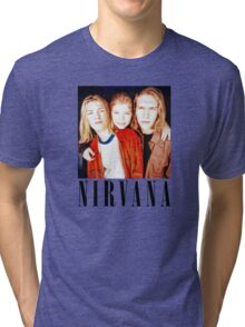 Totally Legit Nirvana T-Shirt Tri-blend T-Shirt
