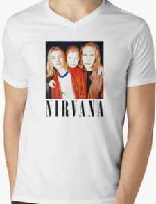 Totally Legit Nirvana T-Shirt Mens V-Neck T-Shirt