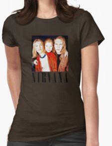 Totally Legit Nirvana T-Shirt Womens Fitted T-Shirt