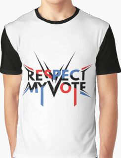 Respect My Vote Graphic T-Shirt