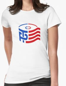 TP Trump Logo Womens Fitted T-Shirt