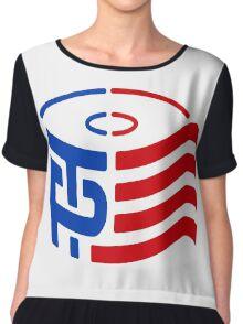 TP Trump Logo Chiffon Top