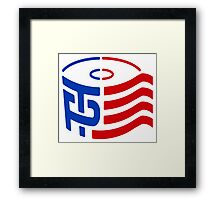TP Trump Logo Framed Print