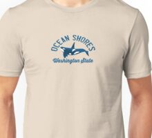 Ocean Shores - Washington State. Unisex T-Shirt