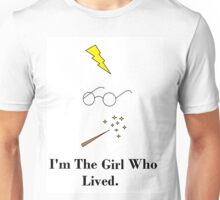 The Girl Who Lived. Unisex T-Shirt