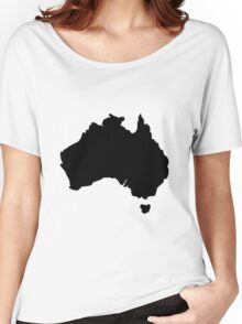 Map of Australia Women's Relaxed Fit T-Shirt