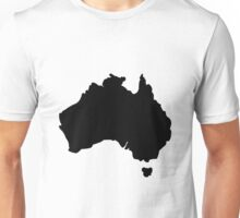 Map of Australia Unisex T-Shirt