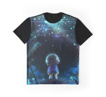 Undertale - Frisk - Waterfall Graphic T-Shirt