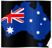Map of Australia Poster