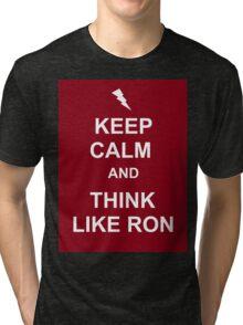 Think like Ron Tri-blend T-Shirt