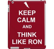Think like Ron iPad Case/Skin