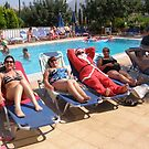 Santa's  Not coming This Year-  Hes in Zante, Greece by mikequigley