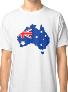 Map of Australia Classic T-Shirt