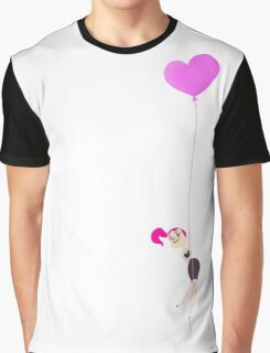 Mitzi Heart Balloon Graphic T-Shirt