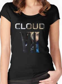 <FINAL FANTASY> Cloud VII Women's Fitted Scoop T-Shirt