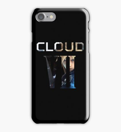 <FINAL FANTASY> Cloud VII iPhone Case/Skin