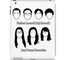 Everyone - Big Bang Theory iPad Case/Skin