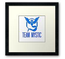 Pokemon Go - Team Mystic Edit Framed Print