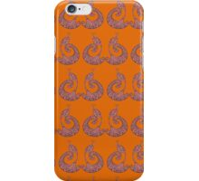Be Proud - Perfectly Peacocks - Spice iPhone Case/Skin