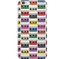 Cassettes In a Row iPhone Case/Skin