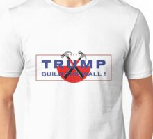 Trump & Pink - Build The Wall! Unisex T-Shirt