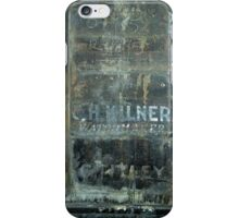 Distressed Signage, Manchester iPhone Case/Skin