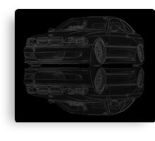 Mirror E46 Canvas Print