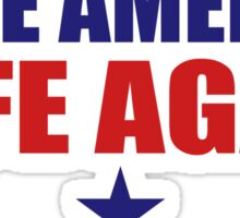 Make America Safe Again Sticker