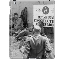 WWII day iPad Case/Skin