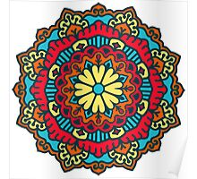 Mandala - Circle Ethnic Ornament Poster