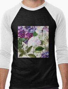 Garden Glow Men's Baseball ¾ T-Shirt