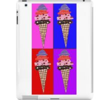 Time For Ice Cream iPad Case/Skin