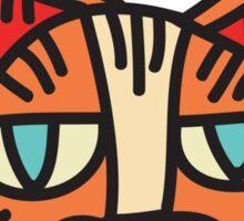 Cat Head Illustration - Sticker 1 Sticker