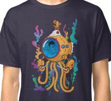 Octopod yellow Garden  Classic T-Shirt